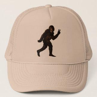 Frieden Bigfoots Sasquatch Truckerkappe