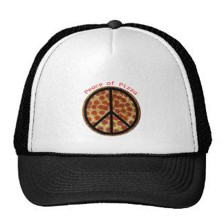 Frieden der Pizza Netzcap