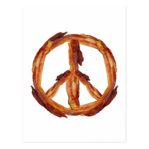 Frieden des Speckes Postkarten