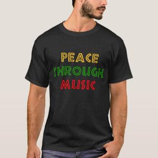 Frieden durch Musik T-Shirt