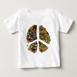FRIEDEN durch Plätzchen Baby T-shirt