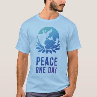 Frieden ein Tag T-Shirt