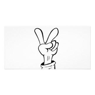 Frieden Fotokarte