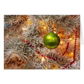 Frieden, Freude und die Magie der Weihnachtskarte Karte