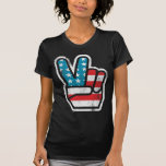 Frieden für Amerika-Shirt