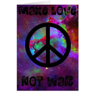 Frieden Grußkarte