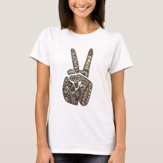 """""""Frieden heraus"""" entwerfen T-Shirt"""