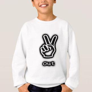 Frieden heraus sweatshirt