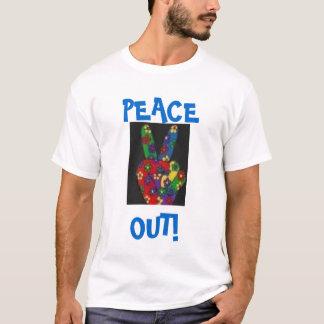 Frieden heraus T-Shirt