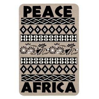 Frieden in Afrika Flexible Magnete