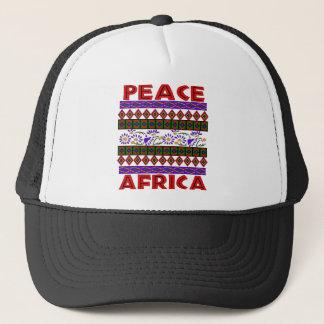 Frieden in Afrika Truckerkappe