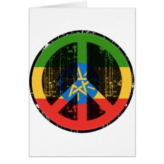 Frieden in Äthiopien Karte
