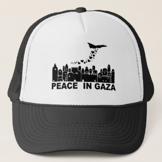 Frieden in Gaza Truckerkappe