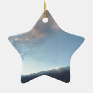 Frieden inmitten eines Sturms Keramik Ornament