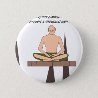 Frieden innen runder button 5,7 cm