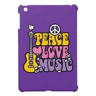 Frieden-Liebe-Musik iPad Mini Hülle