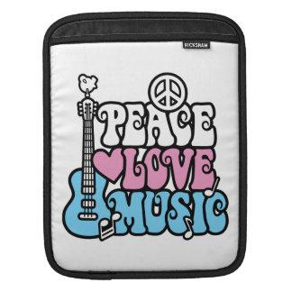 Frieden-Liebe-Musik Sleeve Für iPads