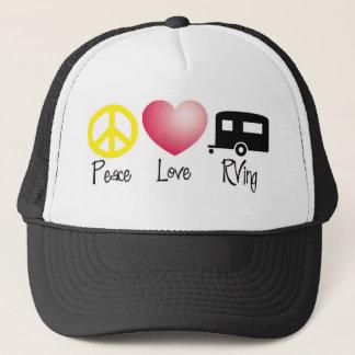 Frieden, Liebe, RVing Truckerkappe
