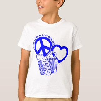 FRIEDEN, LIEBE U. AKKORDEONS T-Shirt
