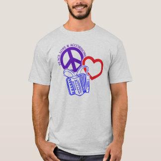 FRIEDEN, LIEBE UND AKKORDEONS T-Shirt