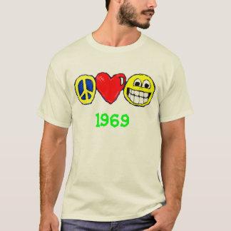 Frieden, Liebe und Glück T-Shirt