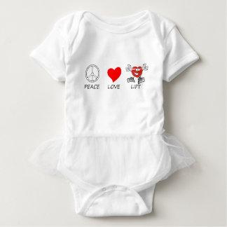 Frieden love22 baby strampler