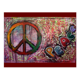 Frieden Postkarte