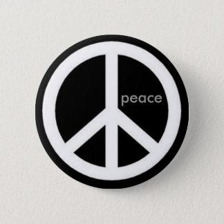 Frieden Runder Button 5,1 Cm