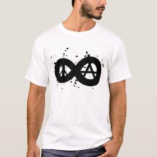 Frieden u. Anarchie T-Shirt