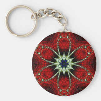 Frieden und Harmonie Standard Runder Schlüsselanhänger