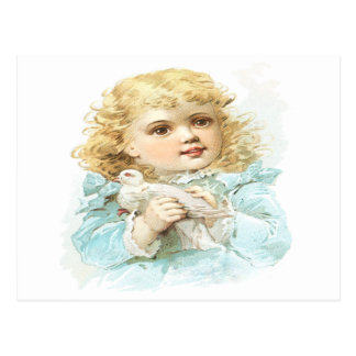 Frieden und Liebe Postkarte