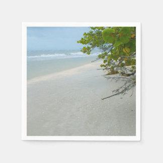 Frieden und Ruhe auf Sanibel Insel Papierserviette