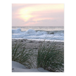 Frieden und ruhiger Strand Postkarte