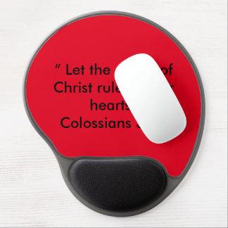 """""""Frieden von Christus"""" motivierend Mausunterlage Gel Mousepad"""
