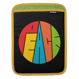 Frieden - Wort-Kunst Sleeve Für iPads