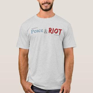 Friedens-und Aufstand-T - Shirt