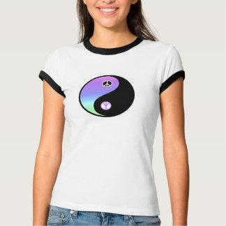 Friedens- und Balancenweckert-stück T-Shirt