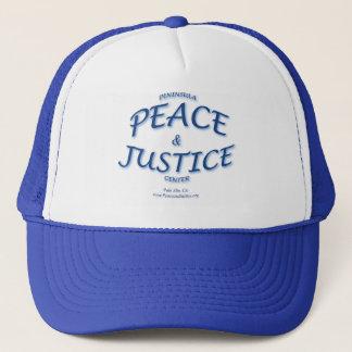 Friedens-und Gerechtigkeits-Kappe Truckerkappe