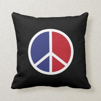 Friedens-und Liebe-Zeichen-Kissen Kissen