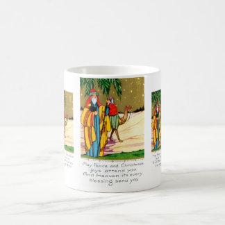 Friedens- und Weihnachtsfreude Kaffeetasse