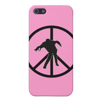Friedens-ZOMBIE (Rosa) iPhone 5 Etui