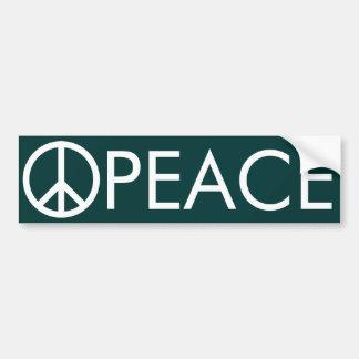 FriedensAutoaufkleber Autoaufkleber