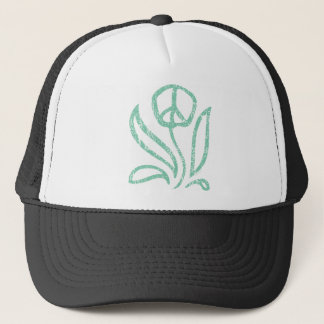FriedensBlume gemasert Truckerkappe