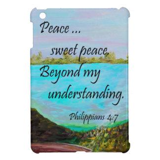 Friedensbonbon-Frieden iPad Mini Hülle