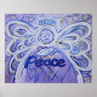 Friedensengels-Kunst-Plakat-Druck Poster