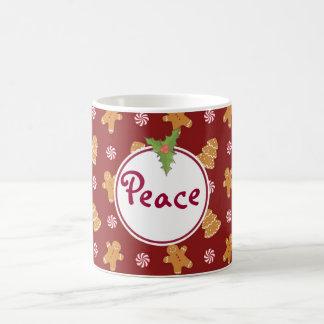 Friedensfeiertags-Weihnachtslebkuchen-Plätzchen-Ta