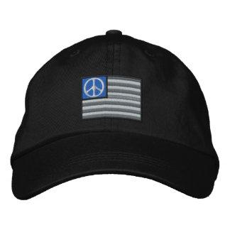 Friedensflagge Bestickte Baseballkappe