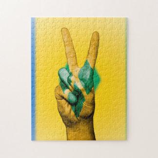 Friedensflagge der Grenadinen Puzzle