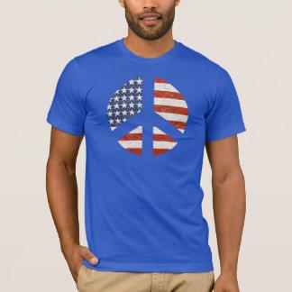 Friedensflaggen-T - Shirt - Zeichen der