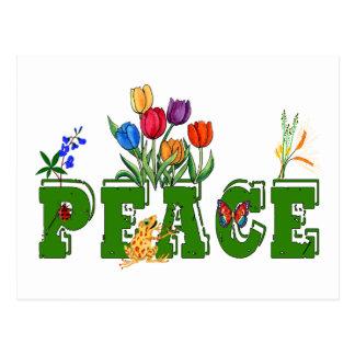 Friedensgarten Postkarte